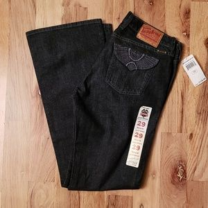 NWT Lucky Brand Black Jeans Sweet' N Low